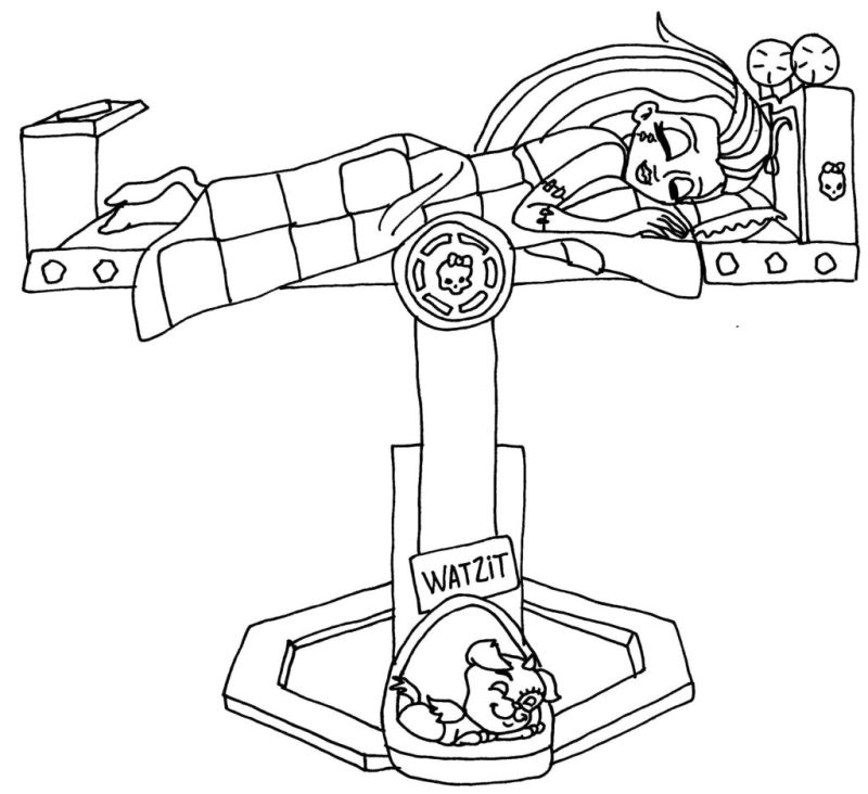 frankie stein coloring pages - photo#28