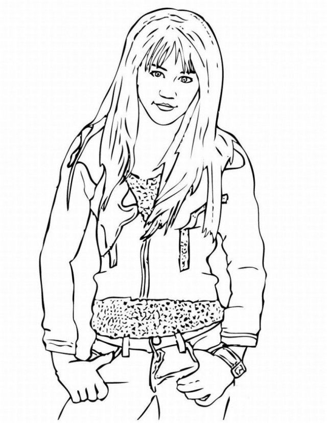 Disney Channel Printable Coloring Pages Coloring Home