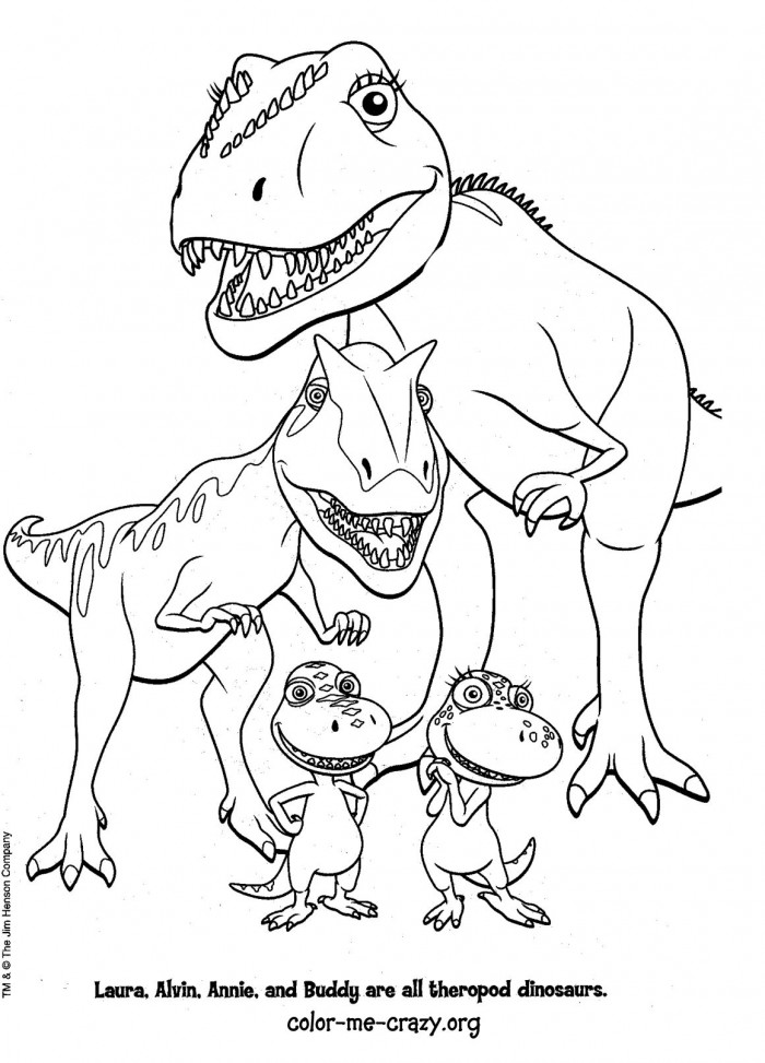 dinosaur train coloring pages online - photo#14