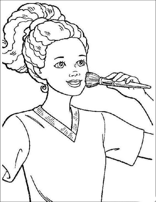 f african american coloring pages - photo #3