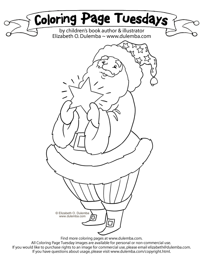 Twas The Night Before Christmas Coloring Pages AZ