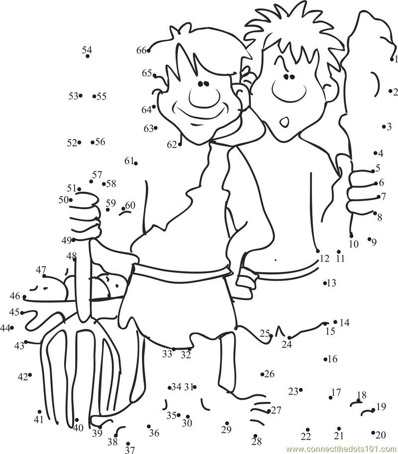 cain and abel coloring pages - photo#7