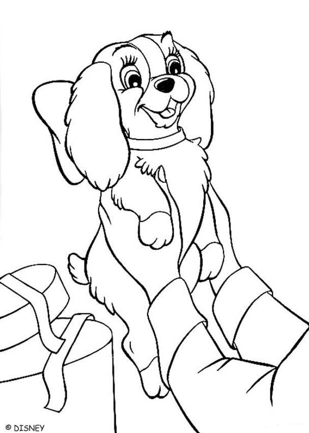 Disney Lady and the Tramp Coloring Pages #7 | Disney Coloring Pages