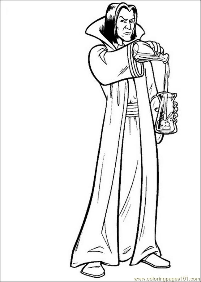 Harry Potter Coloring Page Coloring Home