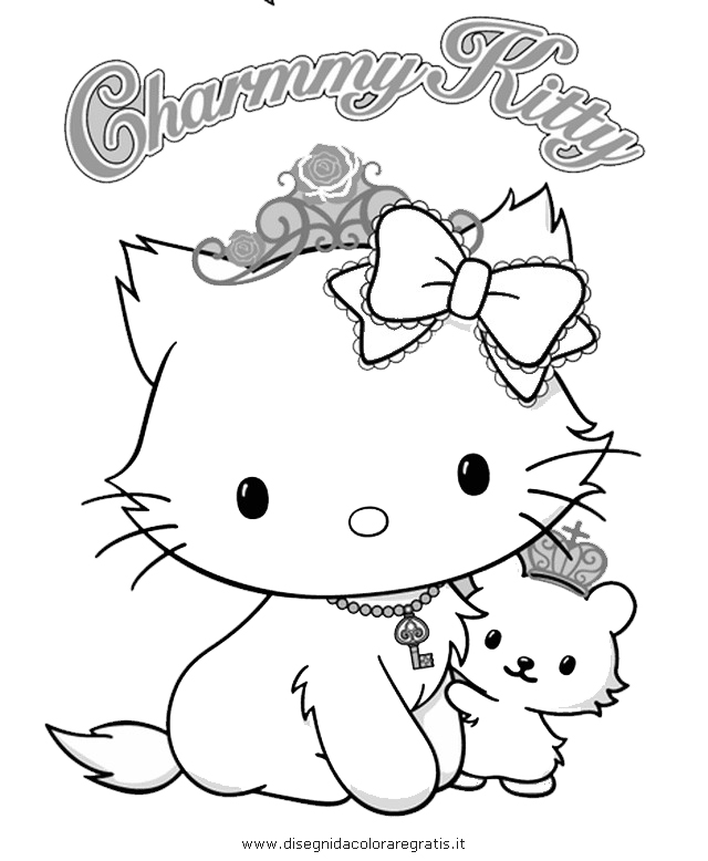 Charmmy Kitty Coloring Pages - AZ Coloring Pages