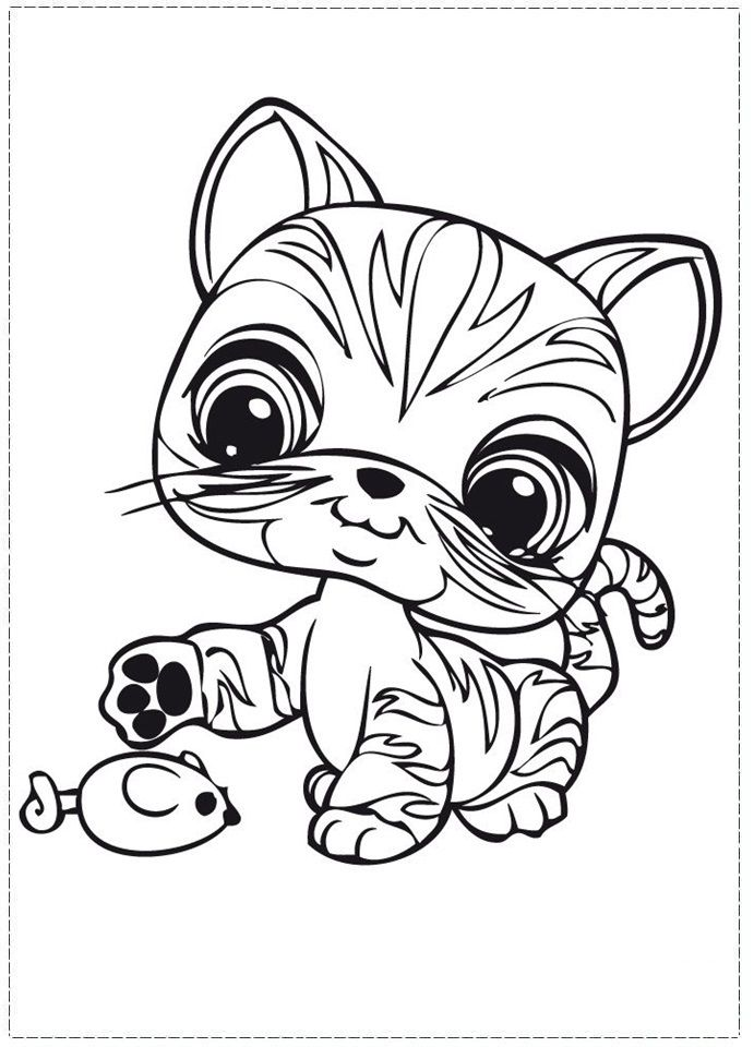 My Littlest Pet Shop Coloring Pages - Coloring Home