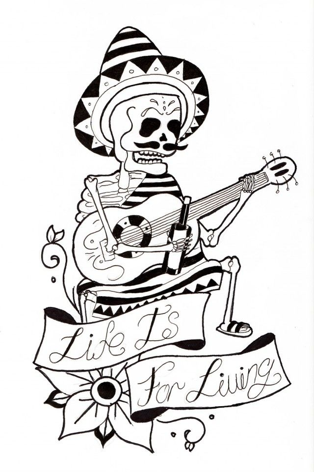 Coloring Pages Breathtaking Day Of The Dead Coloring Pages 141369