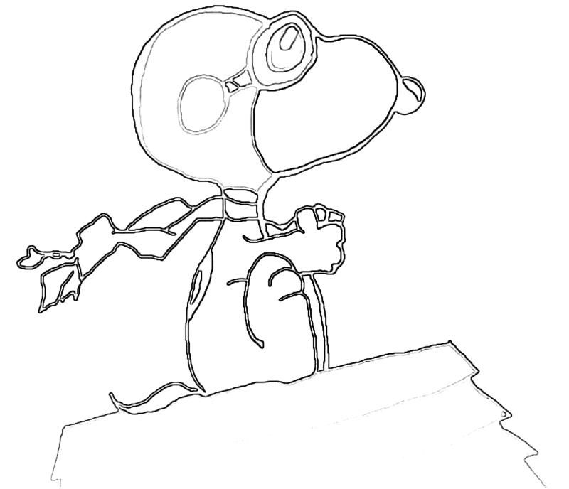 Snoopy Coloring Pages - Category