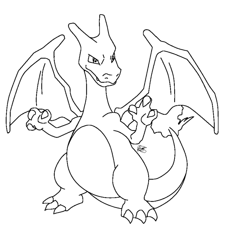 Pokemon Coloring Pages Charizard - Coloring Home