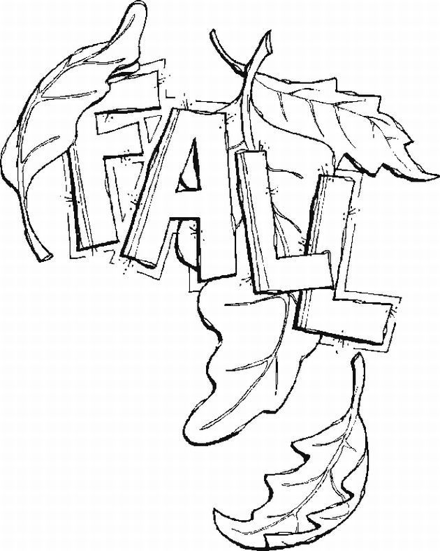 Fall Leaf Coloring Pages | Find the Latest News on Fall Leaf
