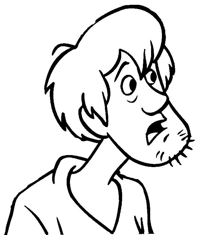 coloring pages of cartoon people - photo#4