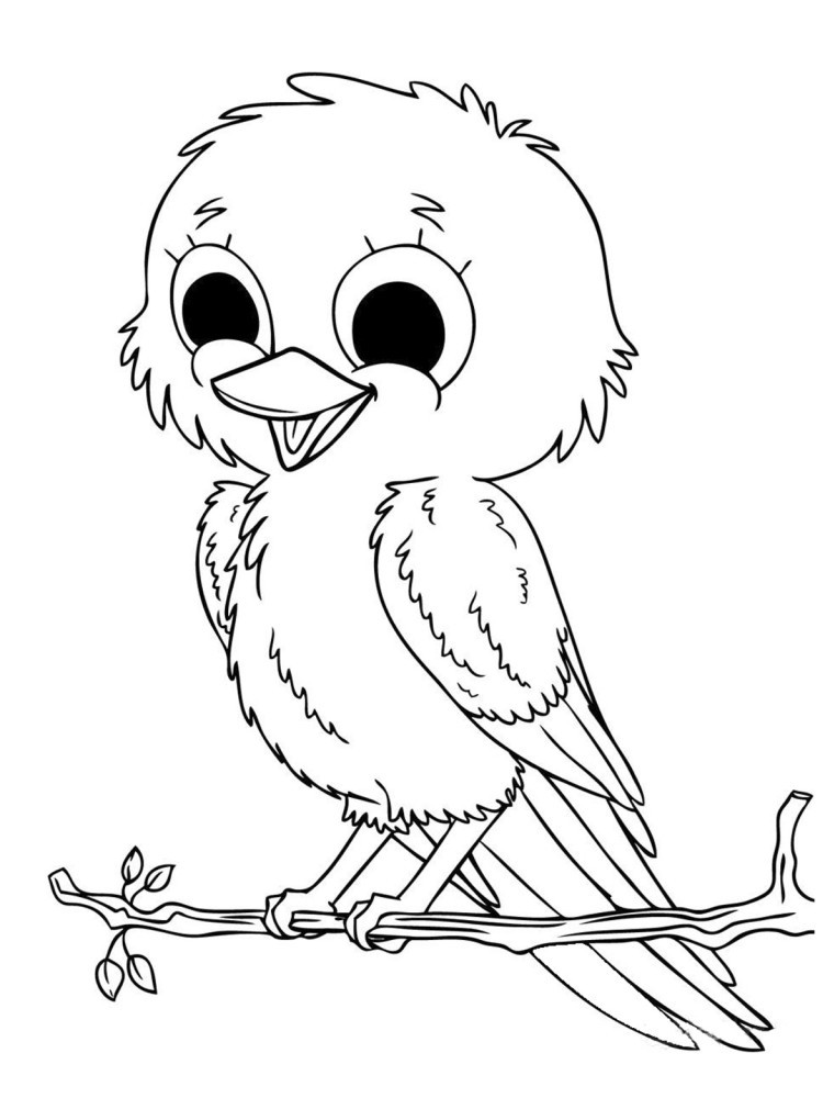 difficult bird coloring pages - photo #24