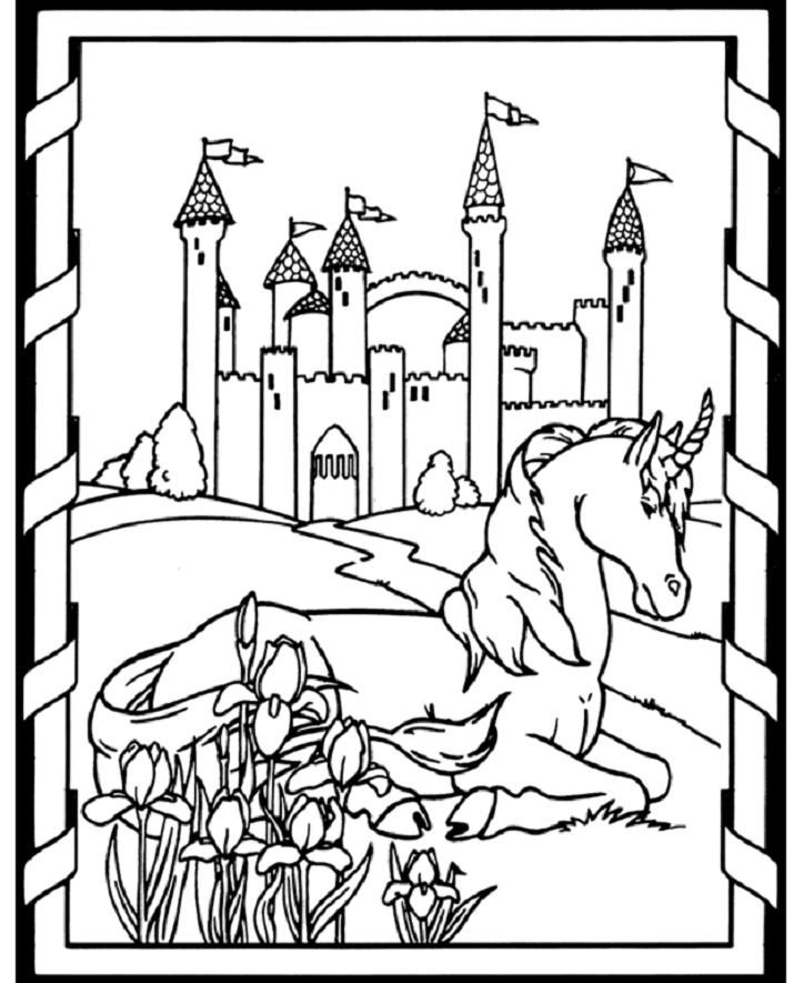Coloring Pages Of Unicorns Coloring