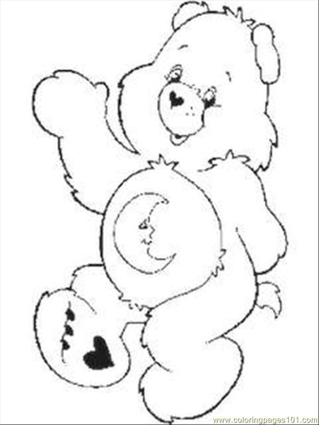 grumpy care bears coloring pages - photo#33