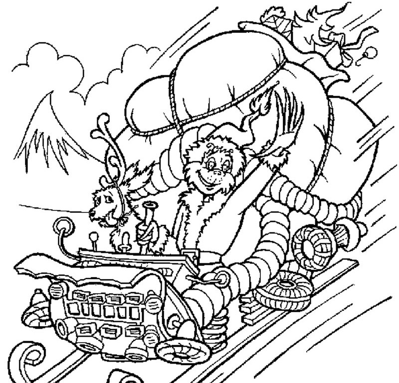 Seussville Coloring Pages Seussville Coloring Pages