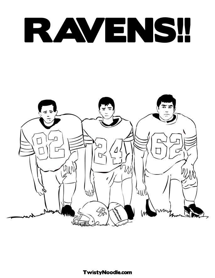 Baltimore Ravens Coloring Pages Az Coloring Pages Baltimore Ravens Color Pages