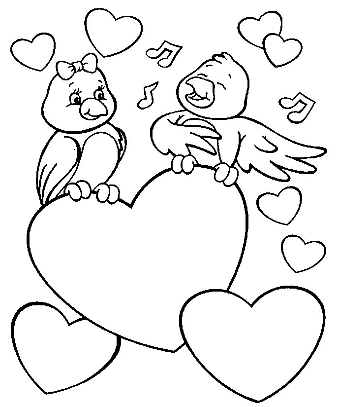Valentines Coloring Pages Pdf : Valentine s day coloring android apps on google play