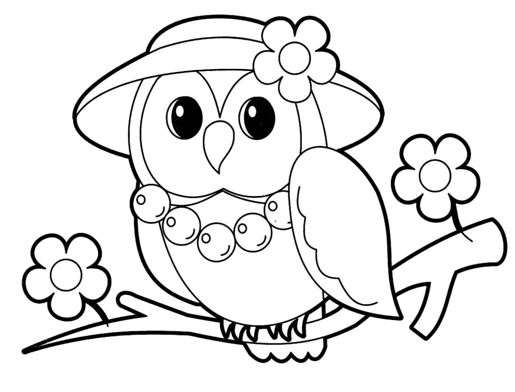 cute animal printable coloring pages - photo#24