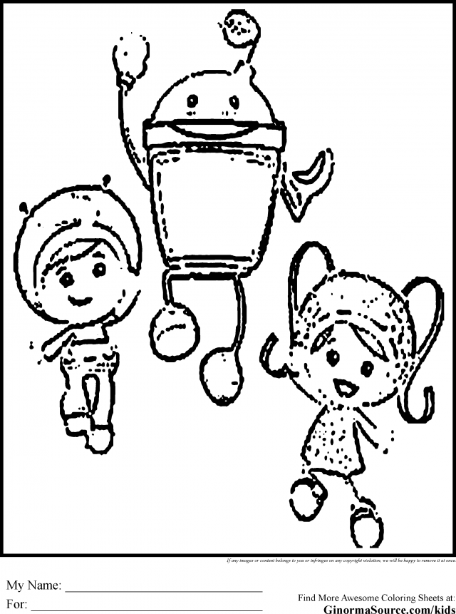 A Team Coloring Pages