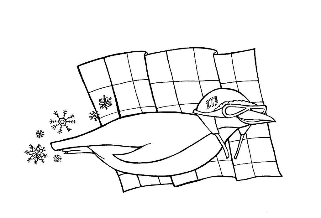 tacky the penguin coloring pages - photo#18