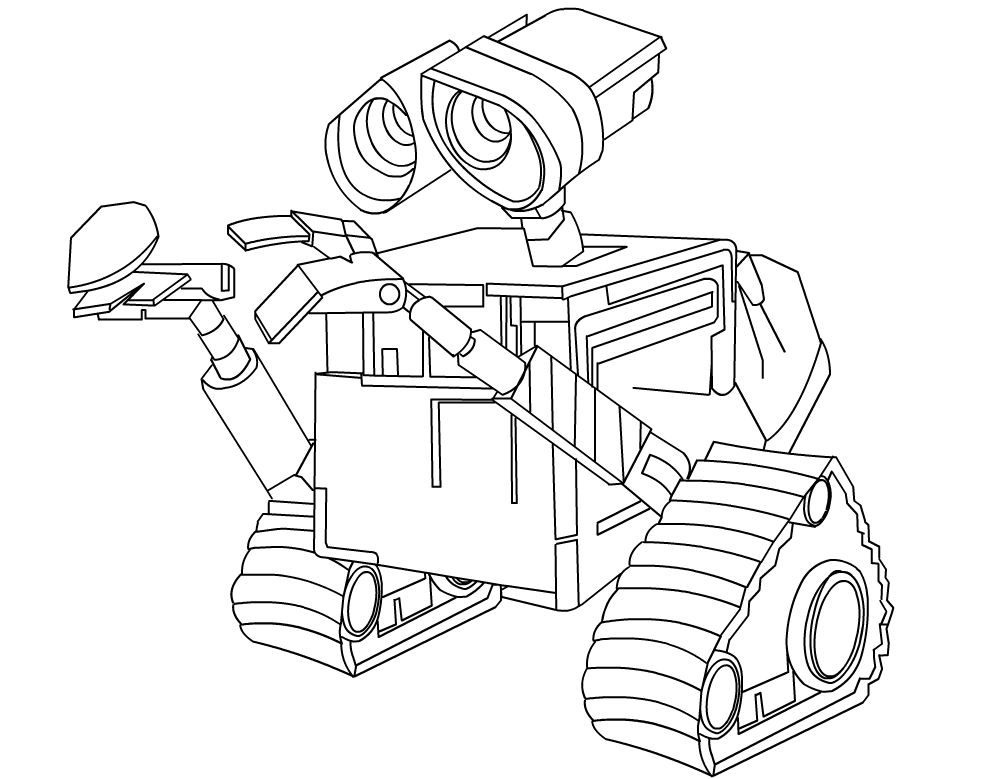 wall_e coloring pages - photo#48