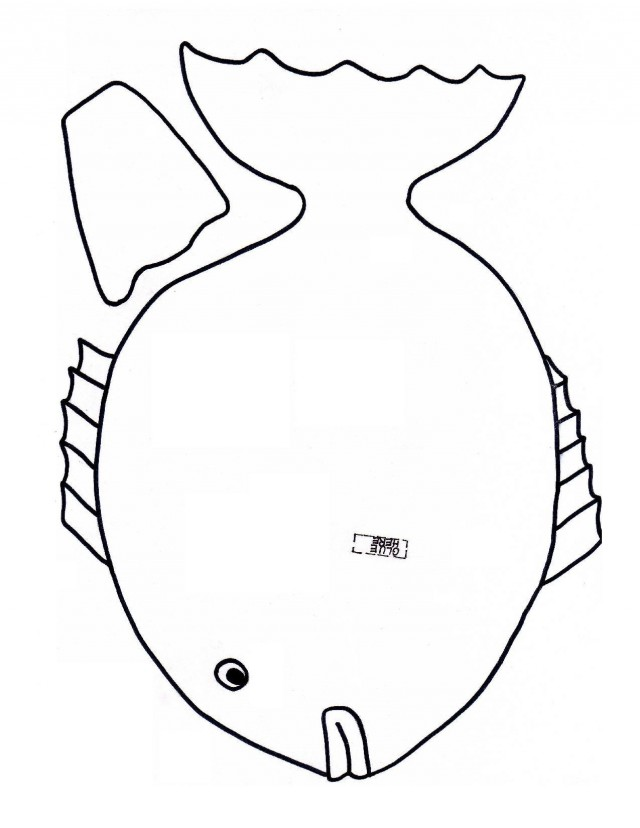 fish preschool coloring pages - photo#26