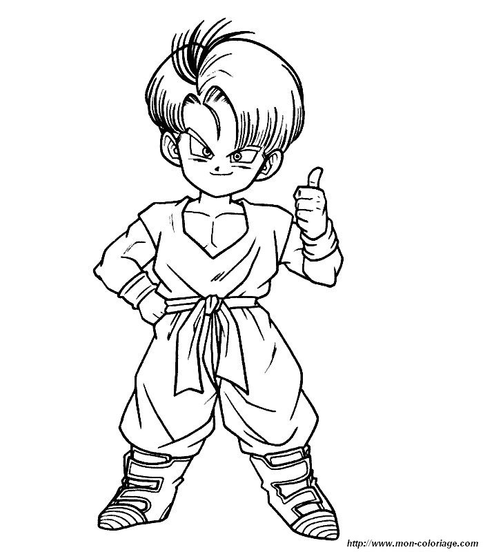 download video dbgt coloring pages - photo#18