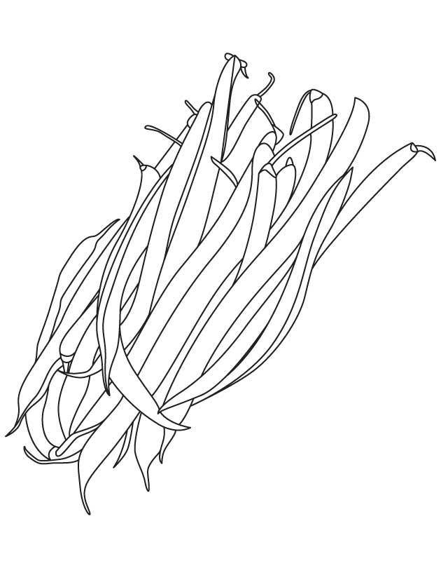 Beans Coloring Pages Coloring