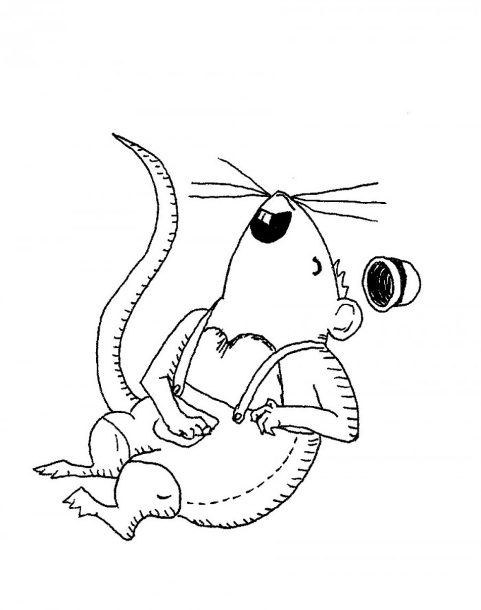 if you give a mouse a cookie coloring pages - photo #20