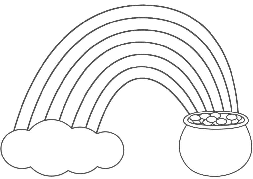 Printable Rainbow Pictures - Coloring Home