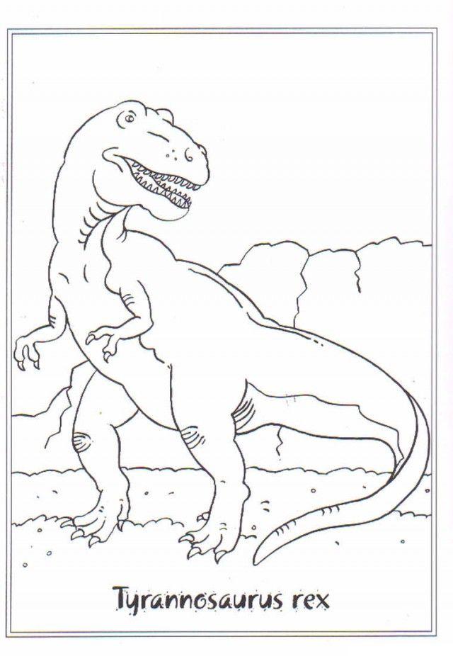 t rex coloring pages for kids az coloring pages