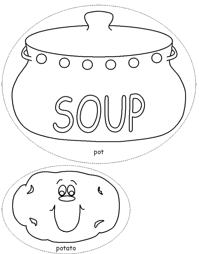 soup and sandwiches coloring pages - photo#16