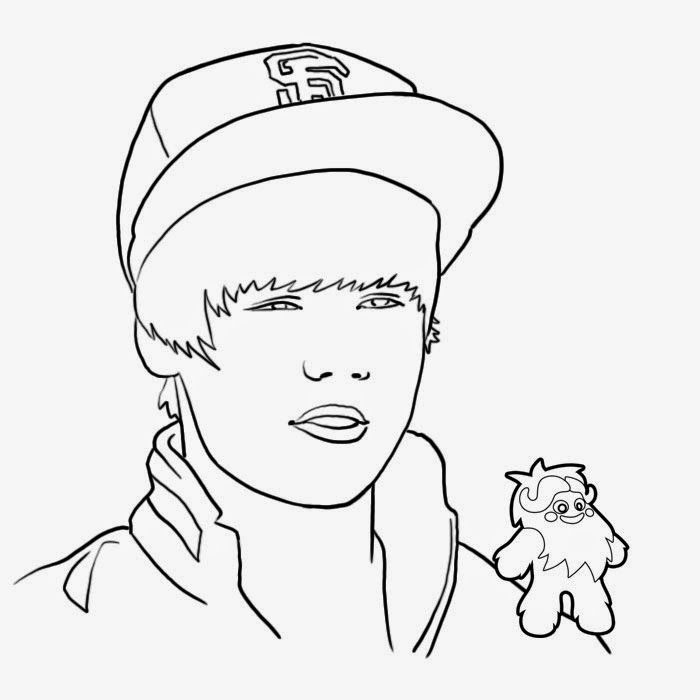 Coloring Pages Justin Bieber Free Printable Coloring Pages