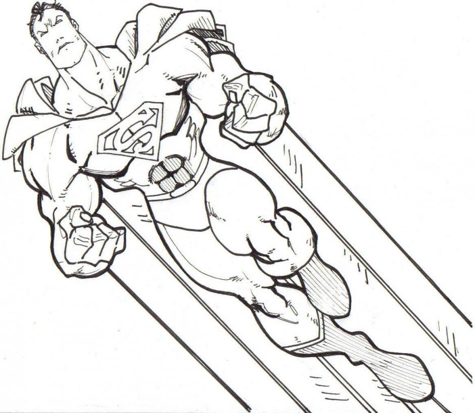 superhero coloring pages dc comic superhero coloring pages 294721