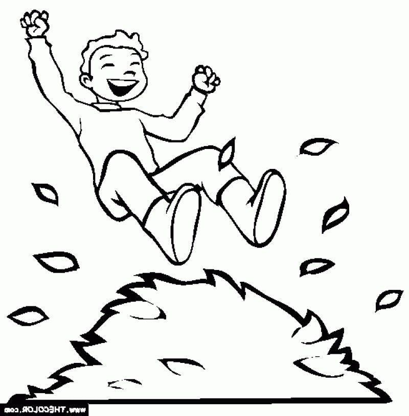 Kids Jumping For Joy Coloring Pages Sketch Coloring Page