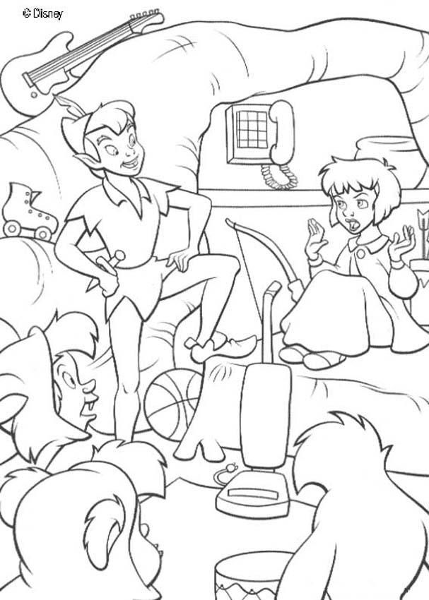 Disney Peter Pan Coloring Pages #48 | Disney Coloring Pages