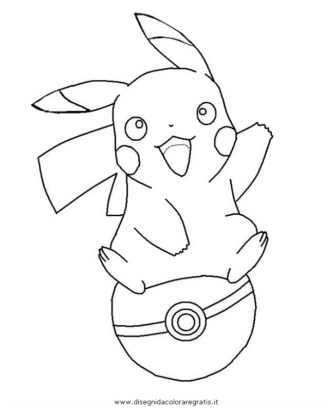 Pokemon pikachu coloring pages az coloring pages for Pikachu coloring page