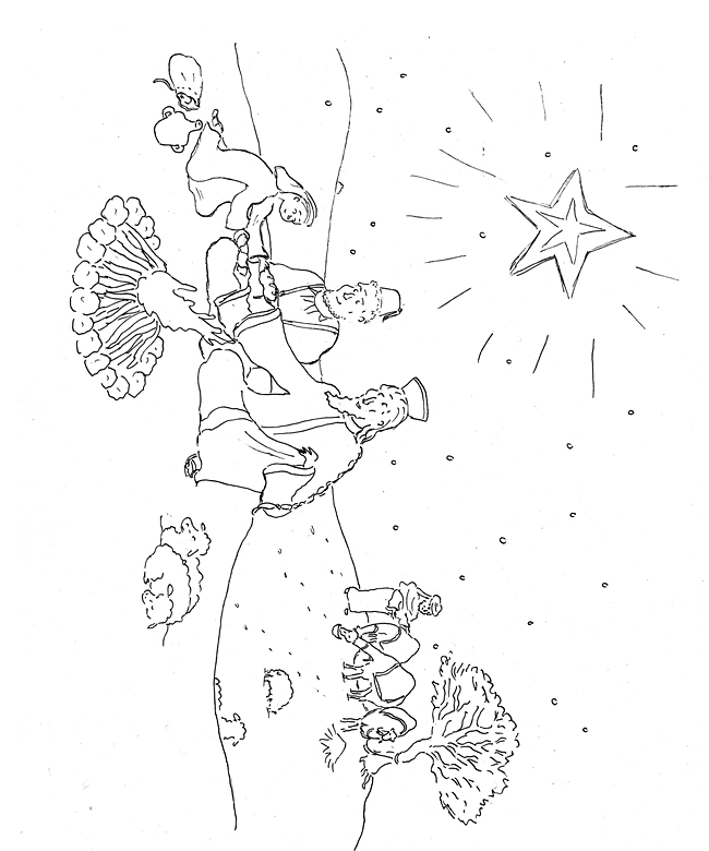 epiphany coloring pages free - photo#12