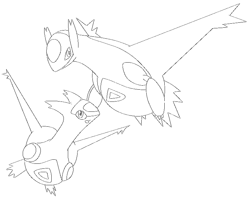 all legendary pokemon coloring pages - photo#4