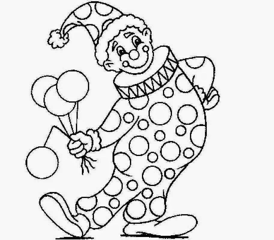 Gallery For gt Clown Drawings Kids