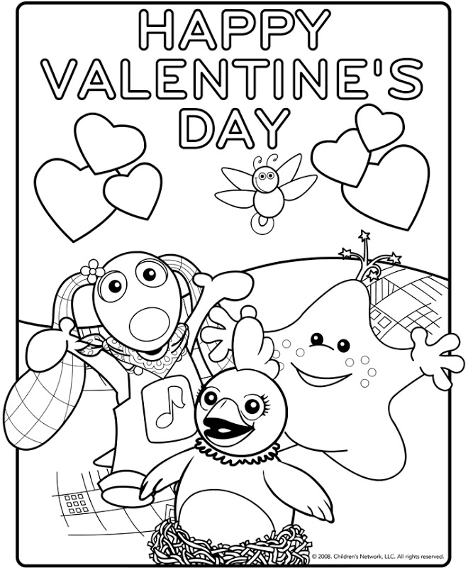 valentine coloring pages by numbers - photo #23