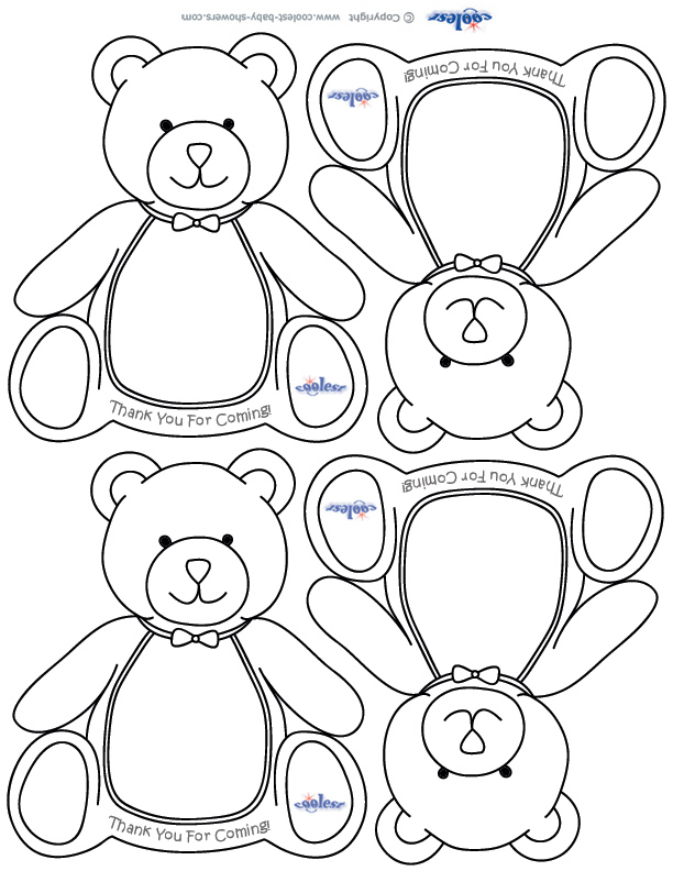 baby shower themed coloring pages - photo#6