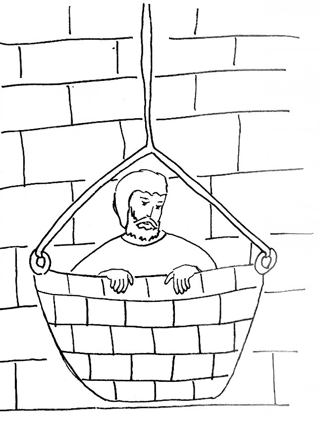 coloring pages apostle paul - photo#35