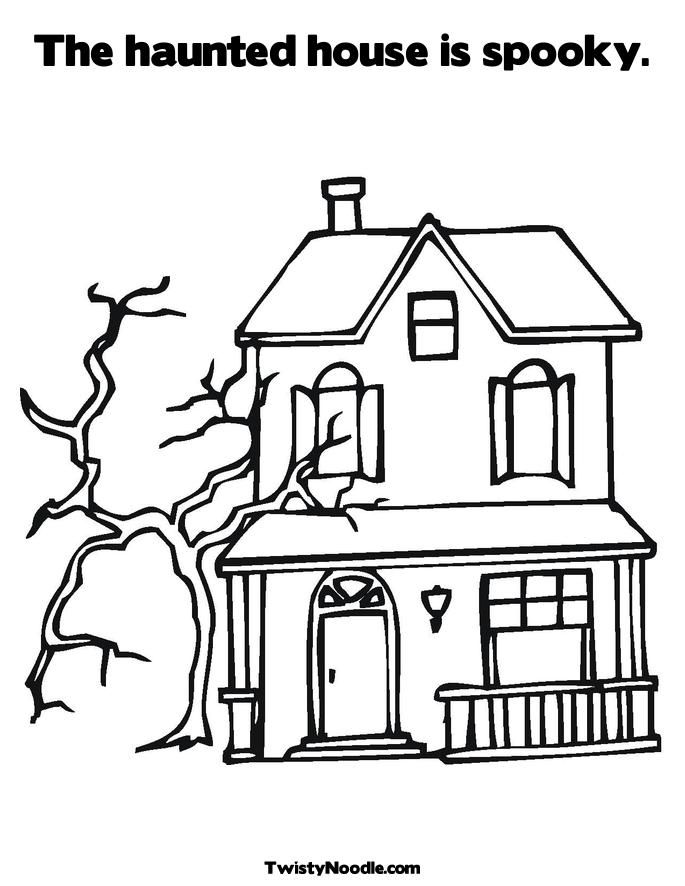 Floating House Colouring Pages (page 3)
