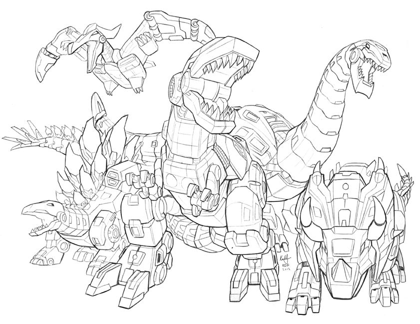 Transformers Dinobots Coloring Pages Coloring Pages For