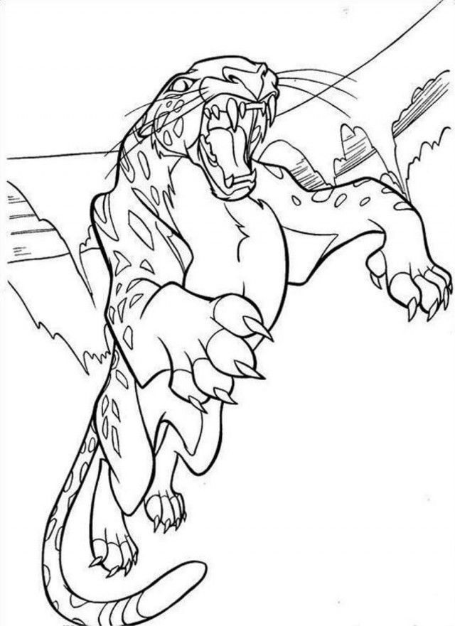 Tarzan Coloring Pages Coloring Home