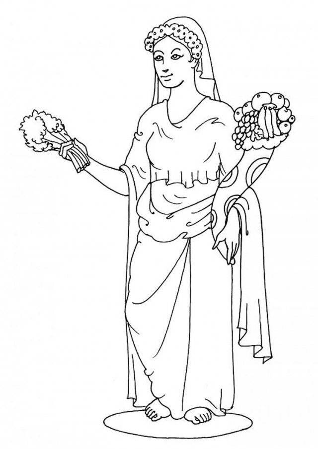 Aphrodite Coloring Pages Coloring Book Area Best Source For 144900