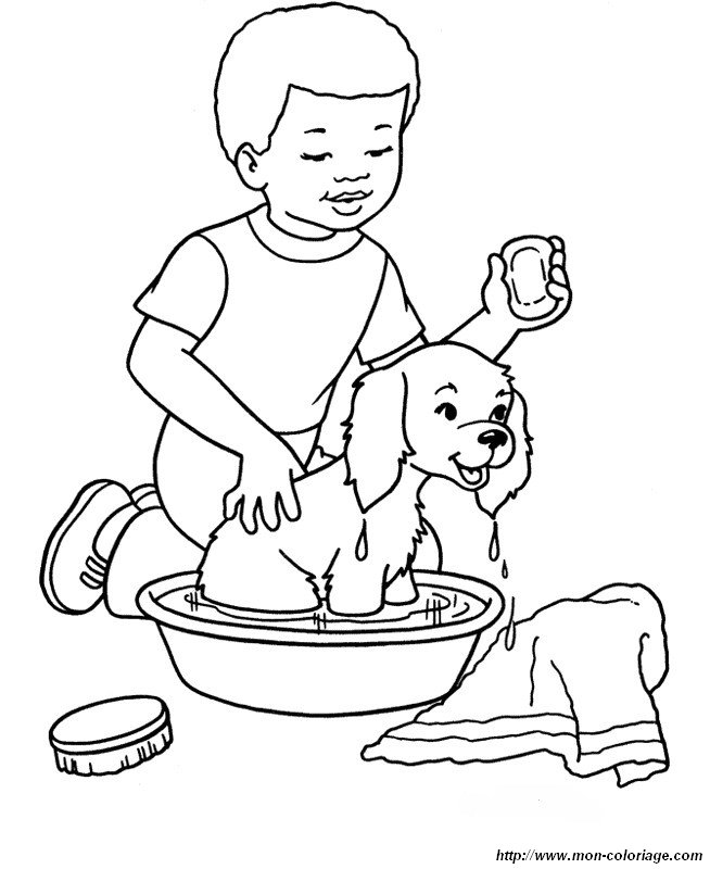 l bath time coloring pages - photo #9