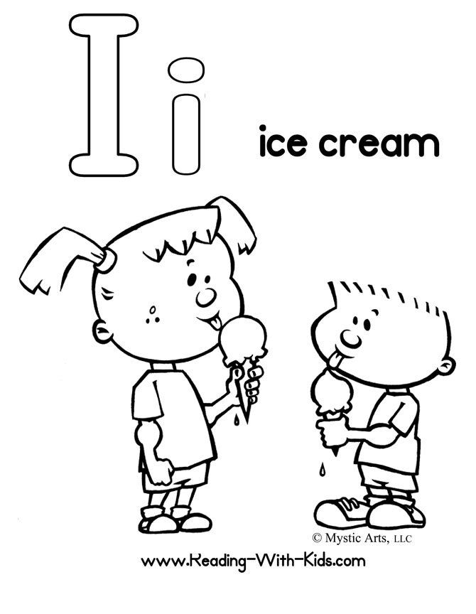 Ice Cream Coloring Pages Pdf : Carol s notebook i is for iguanodon coloring home