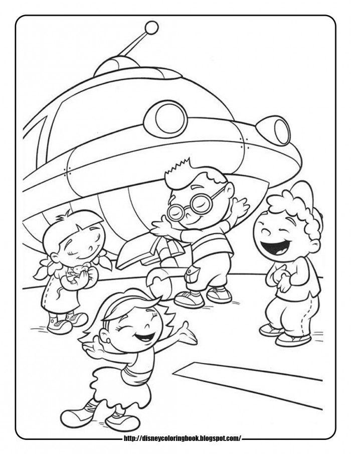 Disney Junior Coloring Page Printable Coloring Book